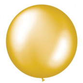 Le ballon géant doré