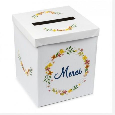 l 39 urne de mariage couronne champ tre d corations de mariage. Black Bedroom Furniture Sets. Home Design Ideas