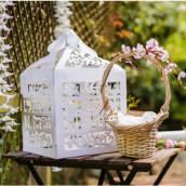 L'urne mariage just married en carton