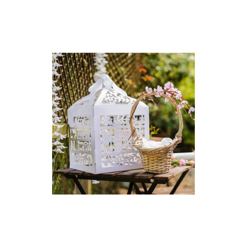 decoration urne mariage carton id es et d 39 inspiration sur le mariage. Black Bedroom Furniture Sets. Home Design Ideas