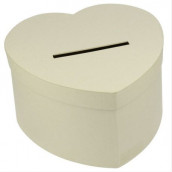 L'urne de mariage kraft coeur