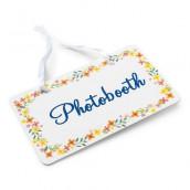 La pancarte champêtre photobooth