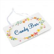 La pancarte champêtre candy bar