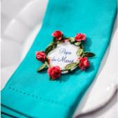 Les badges mariage champêtre (x16)