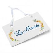 Les pancartes de chaise mariage champêtre