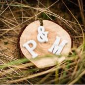 Les lettres en bois blanc 5cm