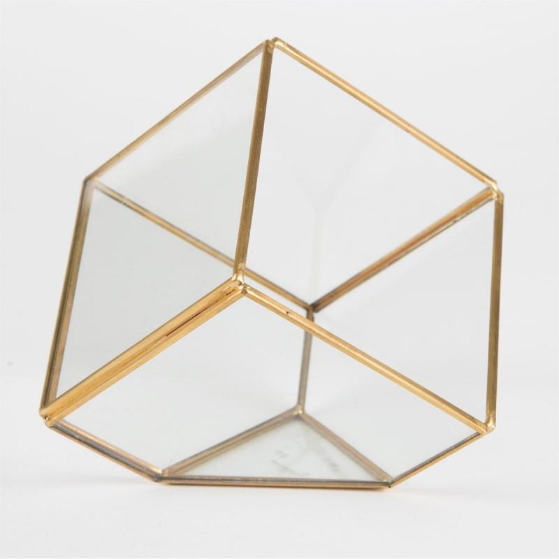 terrarium cube centre de table. Black Bedroom Furniture Sets. Home Design Ideas