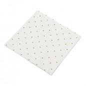 Les 20 serviettes confettis or