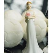 La figurine la mariée exaspérée pour gâteau