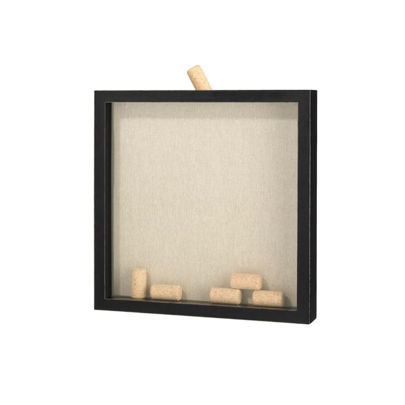 cadre messages bouchons liege. Black Bedroom Furniture Sets. Home Design Ideas