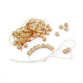 Les perles en bois alaphabet