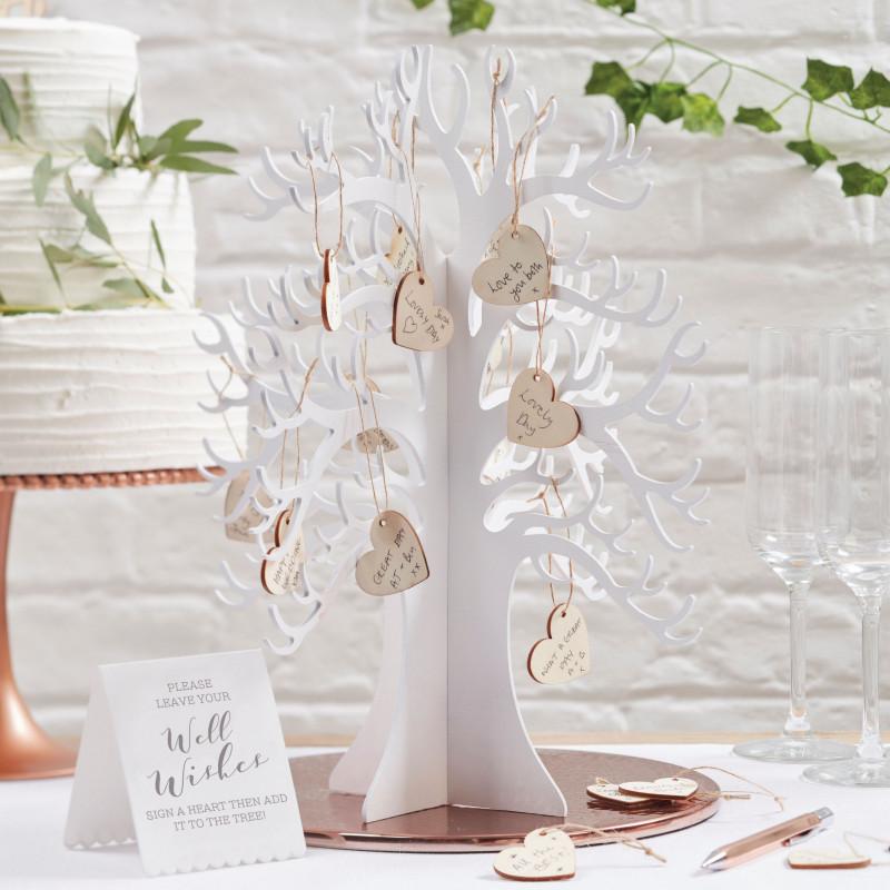 Arbre voeux mariage en bois - L arbre a souhait ...