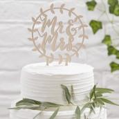 Le pic à gâteau couronne champêtre