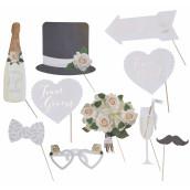 Le kit photobooth mariage champêtre