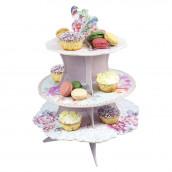 Le présentoir à gâteaux romantique