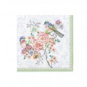 Les 20 serviettes romantique florale