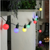 La guirlande ampoule multicolore