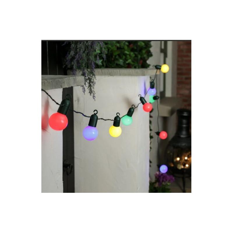 guirlande lumineuse multicolore decoration mariage ext rieur. Black Bedroom Furniture Sets. Home Design Ideas