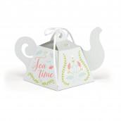 La boîte à dragées théière (x12)