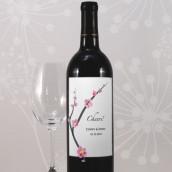 Les 8 étiquettes bouteille de vin fleur de cerisier