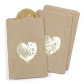 Les 25 sacs papier personnalisés love
