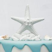 La figurine de gâteau étoile de mer