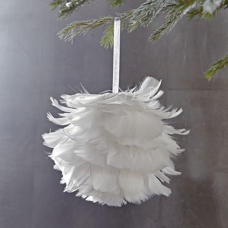 Boule De Plumes 224 Suspendre Decoration Plafond Mariage