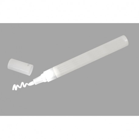 stylo blanc pour ardoise verre marqueur permanent. Black Bedroom Furniture Sets. Home Design Ideas