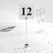 Le porte numéro de table carré