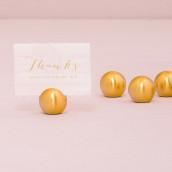 Le marque place boule dorée