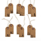 Les étiquettes tag monument (x12)