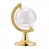 Le contenant dragées globe or (x2)