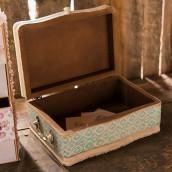 La valise en bois vintage