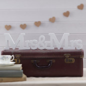 Location Mrs & Mrs en bois blanc