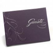 Le livre d'or violet Guest