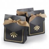 La boîte à dragées noir et or (x25)