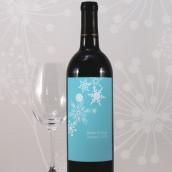 Les 8 étiquettes bouteille de vin flocon