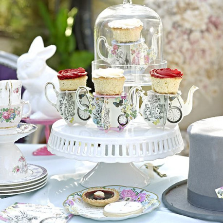 Le mini présentoir cupcake tasse (x6)