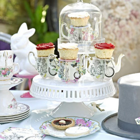 Le mini présentoir cupcake tasse (x3)