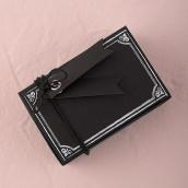 La boite à dragées ardoise vintage (x10)