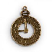 Les 12 pendentifs horloge