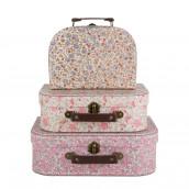 Le set de 3 valises rétro