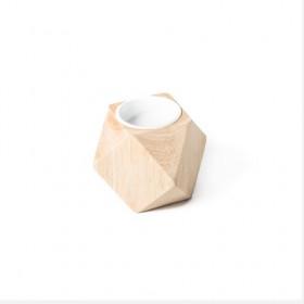 Le bougeoir origami en bois