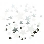 Les paillettes étoile à parsemer argent