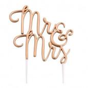 La figurine Mr & Mrs en fil métallique