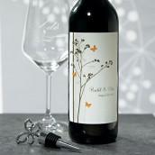 Les 8 étiquettes bouteille de vin champêtres