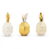 La boîte à dragées ananas dorés (x12)