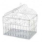 L'urne mariage cage oiseau rectangulaire