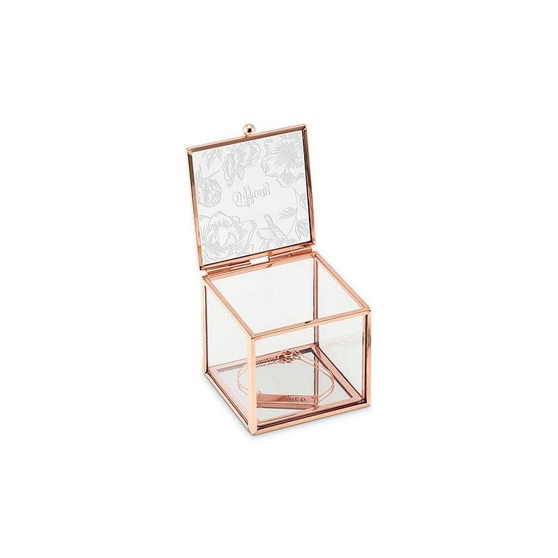 boite bijoux verre cuivre. Black Bedroom Furniture Sets. Home Design Ideas