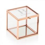 Le porte-alliances cube terrarium logo initiale